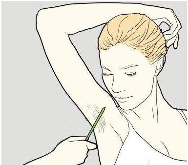 腋毛太长,阻挡你的美,如何去除腋毛