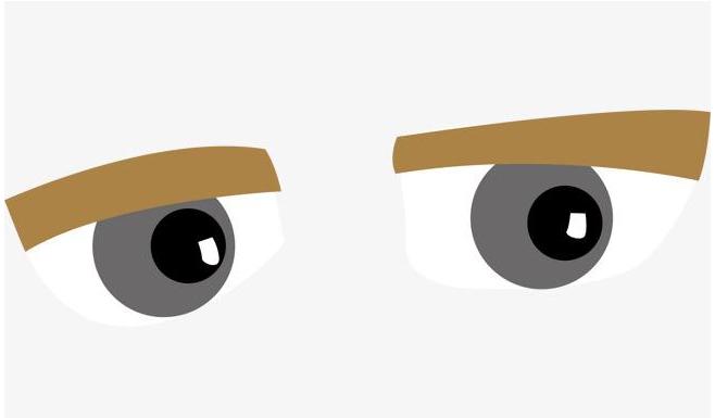 眼睑凹陷矫正