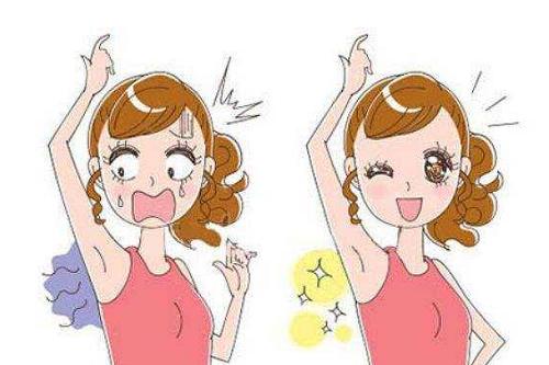 小切口术治疗腋臭的方法