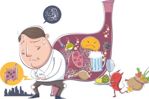 长期饭后消化不良会引起肠癌吗?