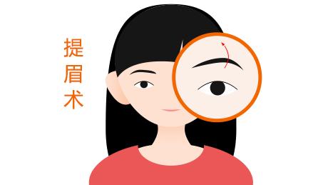你是否适合提眉术来改变眉形