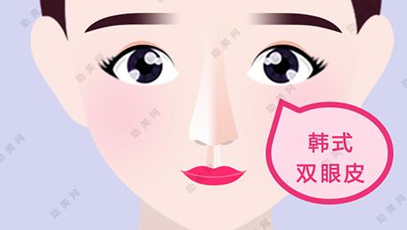 做韩式双眼皮后眼睛变得更大