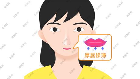 厚唇改薄术的过程及注意事项