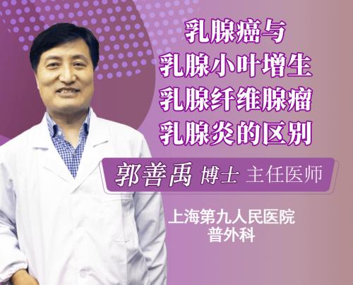 乳腺癌与乳腺小叶增生、乳腺纤维腺瘤、乳腺炎分别是什么